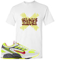 Nike Air Ghost Racer Neon Yellow Sneaker Hook Up Ghost X Rider White T-Shirt