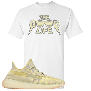 Adidas Yeezy Boost 350 V2 Antlia Sneaker Hook Up The Good Life White T-Shirt