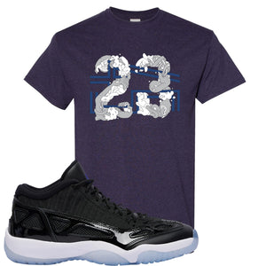 Air Jordan 11 Low IE Space Jam Sneaker Hook Up 23 Arms Blackberry T-Shirt