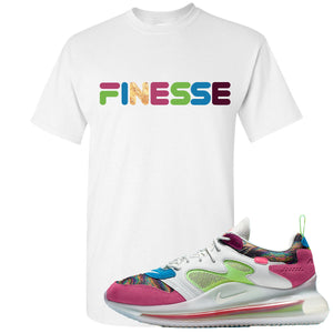 OBJ x Nike Air Max 720 Sneaker Hook Up Finesse White T-Shirt