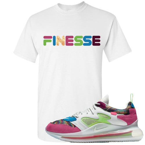 OBJ x Nike Air Max 720 Sneaker Match Finesse White T-Shirt