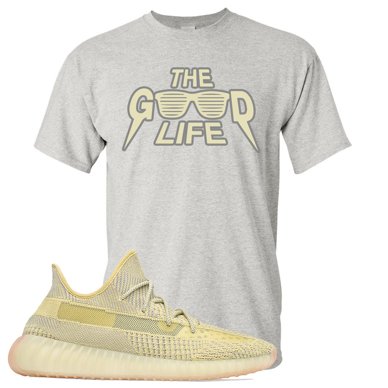 Adidas Yeezy Boost 350 V2 Antlia Sneaker Hook Up The Good Life Sport Grey T-Shirt