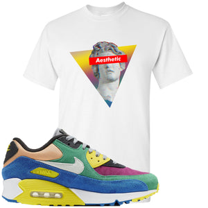 Nike Air Max 90 Viotech 2.0 Sneaker Hook Up Aesthetic White T-Shirt