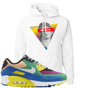 Nike Air Max 90 Viotech 2.0 Sneaker Hook Up Aesthetic White Hoodie
