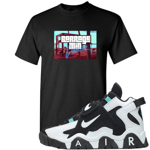 Nike Air Barrage Mid Cabana Sneaker Hook Up Cabana Black T-Shirt