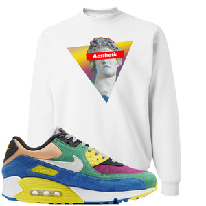 Nike Air Max 90 Viotech 2.0 Sneaker Hook Up Aesthetic White Sweater
