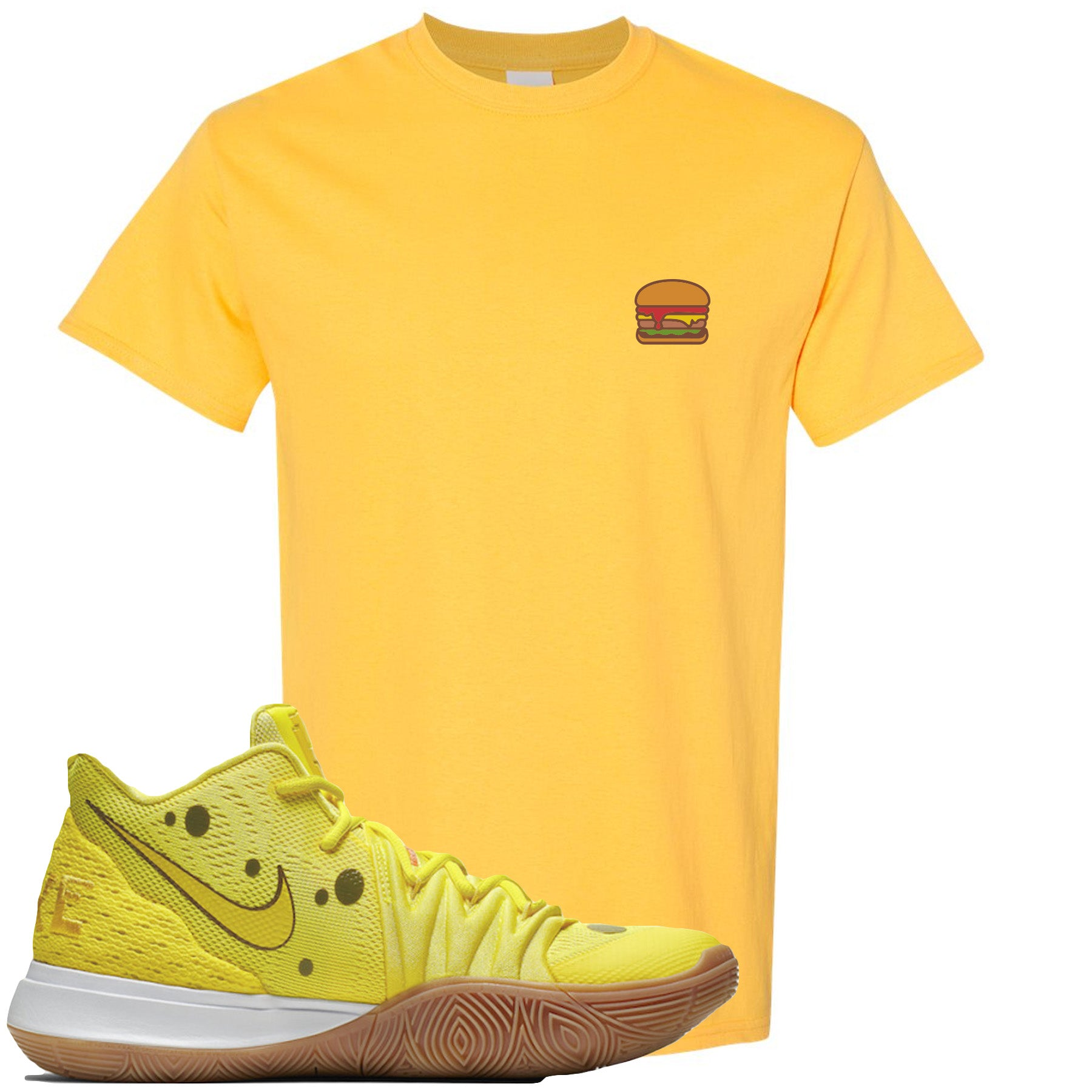 Confundir parcialidad Por separado  kyrie 5 spongebob t shirt Shop Clothing & Shoes Online