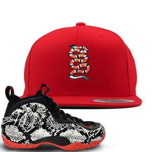 Nike Air Foamposite OneBlack Total Crimson Sneaker ...