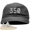 Adidas Yeezy Boost 350 v2 Lundmark Sneaker Hook Up 350 Dark Gray Dad Hat