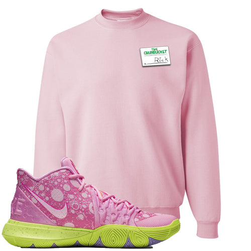 Spongebob Squarepants x Nike Kyrie 5 Patrick Star Sneaker Match Rick Light Pink Sweater