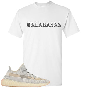 Adidas Yeezy Boost 350 v2 Lundmark Sneaker Hook Up Calabasa white T-Shirt
