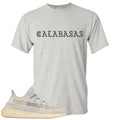 Adidas Yeezy Boost 350 v2 Lundmark Sneaker Hook Up Calabasa Sports Grey T-Shirt