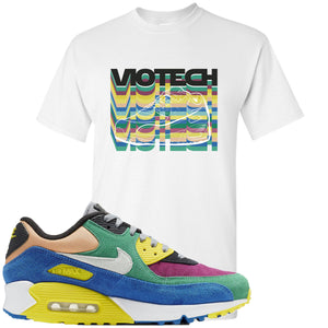 Nike Air Max 90 Viotech 2.0 Sneaker Hook Up Viotech White T-Shirt