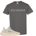 Adidas Yeezy Boost 350 v2 Lundmark Sneaker Hook Up Calabasa Charcoal Gray T-Shirt