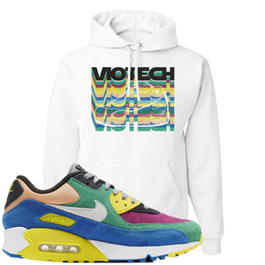 Nike Air Max 90 Viotech 2.0 Sneaker Hook Up Viotech White Hoodie