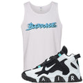 Nike Air Barrage Mid Cabana Sneaker Hook Up Barrage White Mens Tank Top