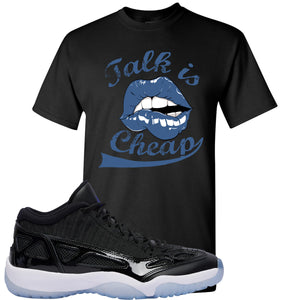 Air Jordan 11 Low IE Space Jam Sneaker Hook Up Talk is Cheap Black T-Shirt