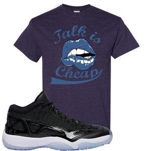 Air Jordan 11 Low IE Space Jam Sneaker Hook Up Talk is Cheap Blackberry T-Shirt