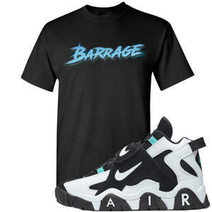 Nike Air Barrage Mid Cabana Sneaker Hook Up Barrage Black T-Shirt