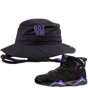 Air Jordan 7 Ray Allen Sneaker Hook Up Got Em Black Bucket Hat