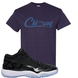 Air Jordan 11 Low IE Space Jam Sneaker Hook Up Chi-raq Blackberry T-Shirt