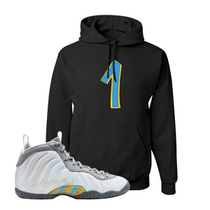 Lil Posite One Rainbow Pixel Hoodie | Black, Penny One
