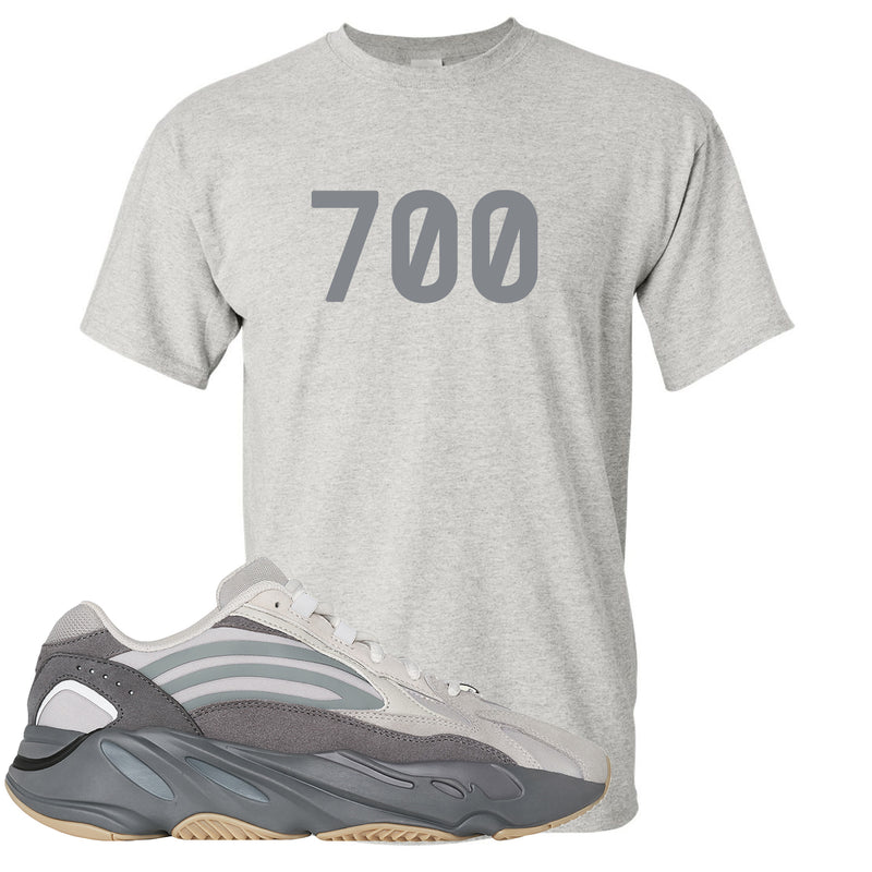 "Adidas Yeezy Boost 700 V2 Tephra Sneaker Hook Up ""700"" Light Gray Dad Hat"