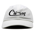 Air Jordan 1 High React White Black Sneaker Hook Up Chi-raq White Dad Hat