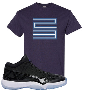 Air Jordan 11 Low IE Space Jam Sneaker Hook Up 23 Blackberry T-Shirt