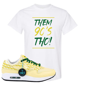Air Max 1 PRM Lemonade T Shirt | Them 90's Tho, White