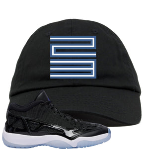 Air Jordan 11 Low IE Space Jam Sneaker Hook Up 23 Black Dad Hat