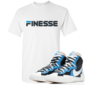Air Max Sacai Blazer University Blue Sneaker Hook Up Finesse White T-Shirt
