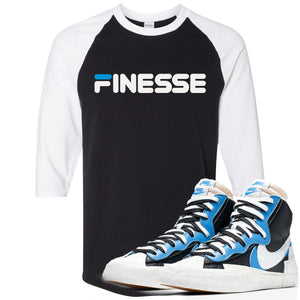 Air Max Sacai Blazer University Blue Sneaker Hook Up Finesse Black and White Ragalan T-Shirt