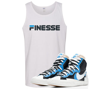 Air Max Sacai Blazer University Blue Sneaker Hook Up Finesse White Mens Tank Top