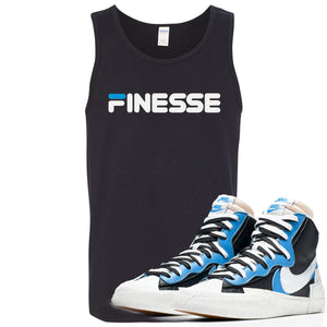 Air Max Sacai Blazer University Blue Sneaker Hook Up Finesse Black Mens Tank Top