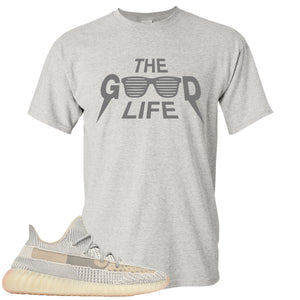 Adidas Yeezy Boost 350 v2 Lundmark Sneaker Hook Up The Good Life Sports Grey T-Shirt