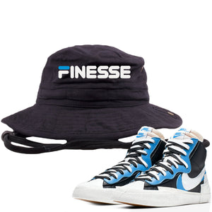 Air Max Sacai Blazer University Blue Sneaker Hook Up Finesse Black Bucket Hat