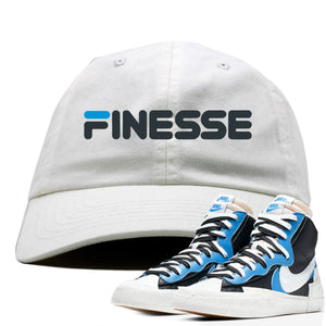 Air Max Sacai Blazer University Blue Sneaker Hook Up Finesse White Dad Hat