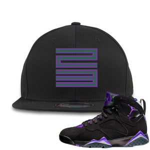 Air Jordan 7 Ray Allen Sneaker Hook Up 23 Black Snapback