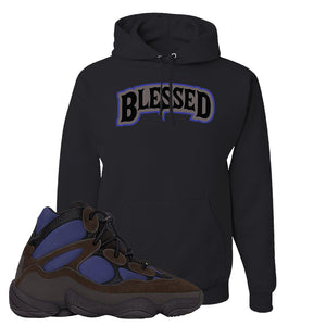 Yeezy 500 High Tyrian Hoodie | Black, Blessed Arch