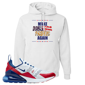 Air Max 270 USA Hoodie | White, Make America Exotic Again