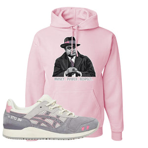 END x Asics Gel-Lyte III Grey And Pink Hoodie | Capone Illustration, Classic Pink