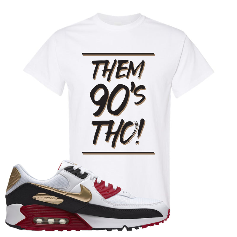 Air Max 90 Chinese New Year T Shirt | White, Them 90's Tho