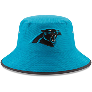 Carolina Panthers 2018 On Field Training Teal Bucket Hat