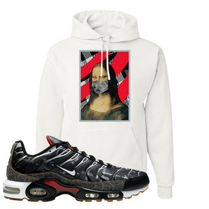 Air Max Plus Remix Pack Hoodie | Mona Lisa Mask, White