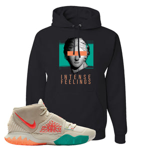 Kyrie 6 N7 T Shirt | Black, Intense Feelings