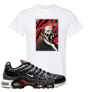 Air Max Plus Remix Pack T Shirt | Ben Franklin Mask, White
