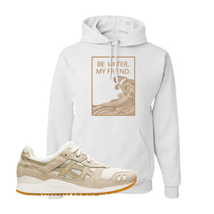 GEL-Lyte III 'Monozukuri Pack' Hoodie | White, Be Water My Friend Wave