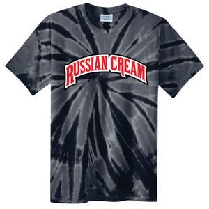 Backwoods Russian Cream Black Tie-Dye T-Shirt