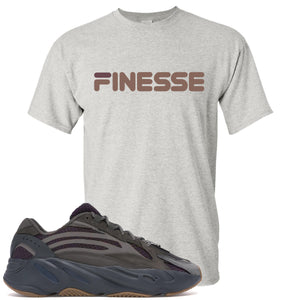 Yeezy Boost 700 Geode Sneaker Hook Up Finesse Sports Gray T-Shirt